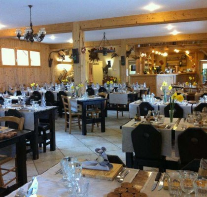 Restaurant de l'auberge de Ferrières
