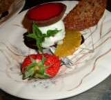 Dessert de l'auberge des 3 canards