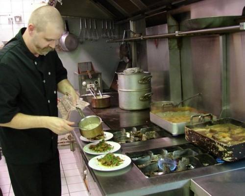 Gastronomie à l'Auberge du Grand Ronjon